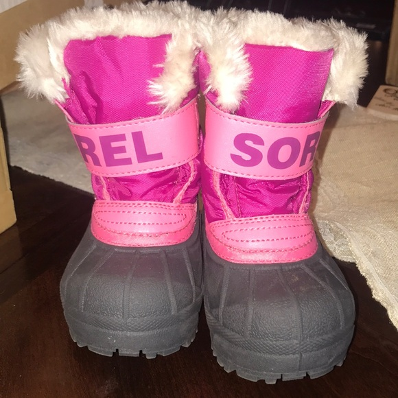 Sorel Shoes   Toddler Snow Boots Size 6